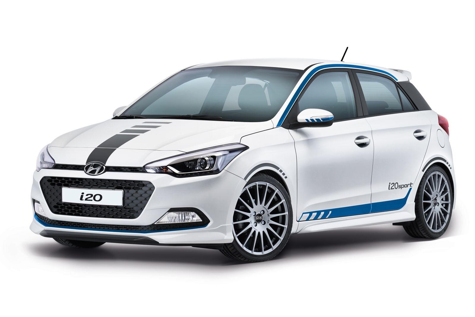 Hyundai i20 Sport для рынка Германии