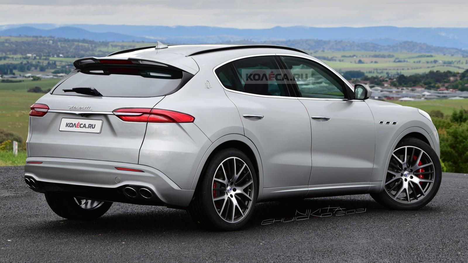 Новый кроссовер Maserati Grecale: первые изображения