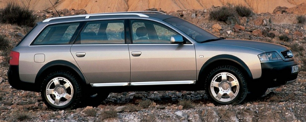 Audi Allroad 2.5 TDI quattro (4B,C5) '2000–06в