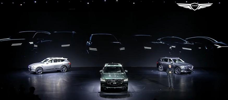 Genesis меняет модельный ряд: кроссовер GV70, обновлённые седаны, купе Essentia и ситикар Mint