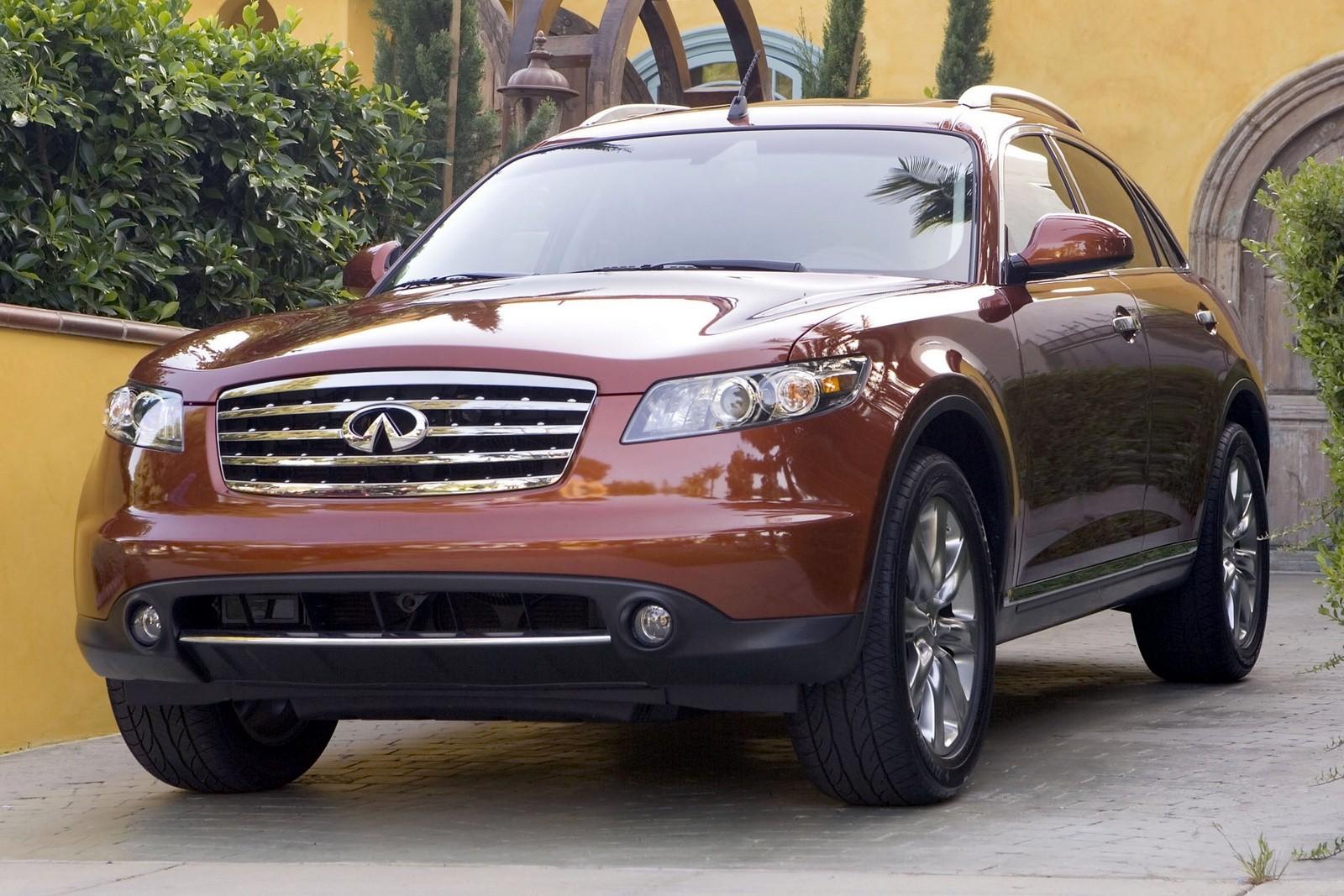 Infiniti FX45 (S50) '2005–08
