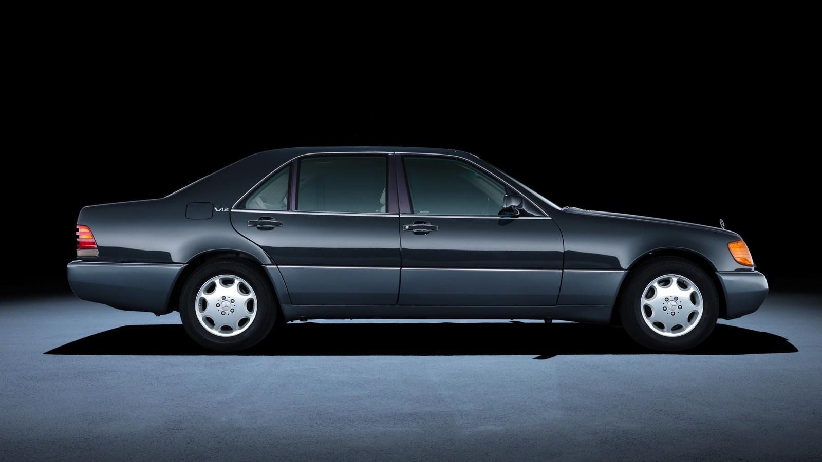 Mercedes-Benz 600 SEL Worldwide (Bm.140.057) '08.1990–1993