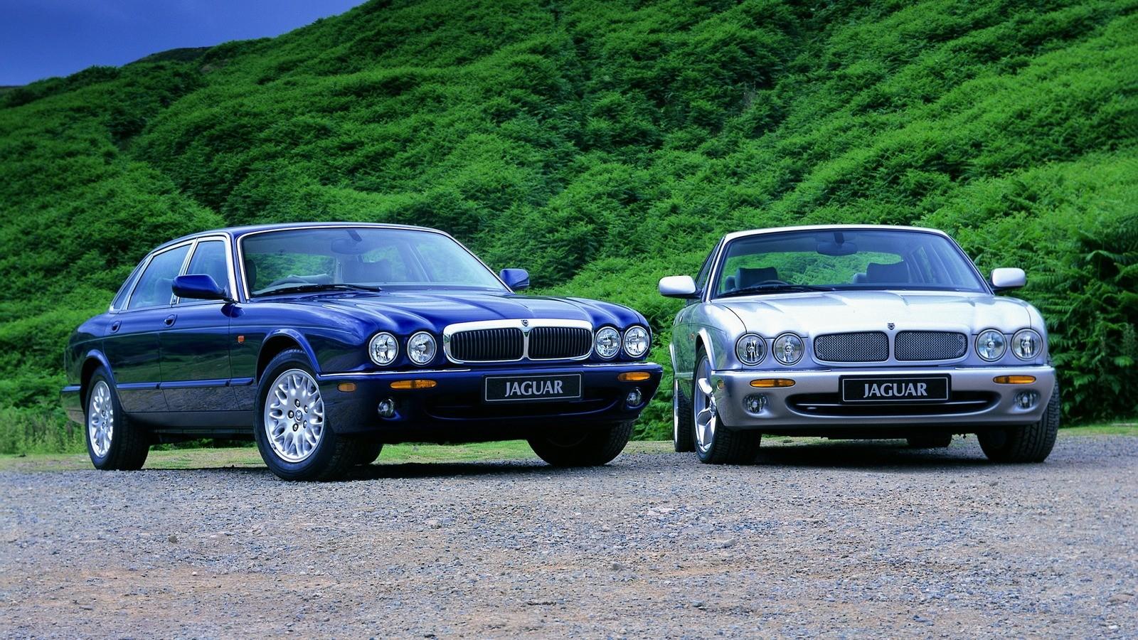 На фото: Jaguar XJ '1994–2003