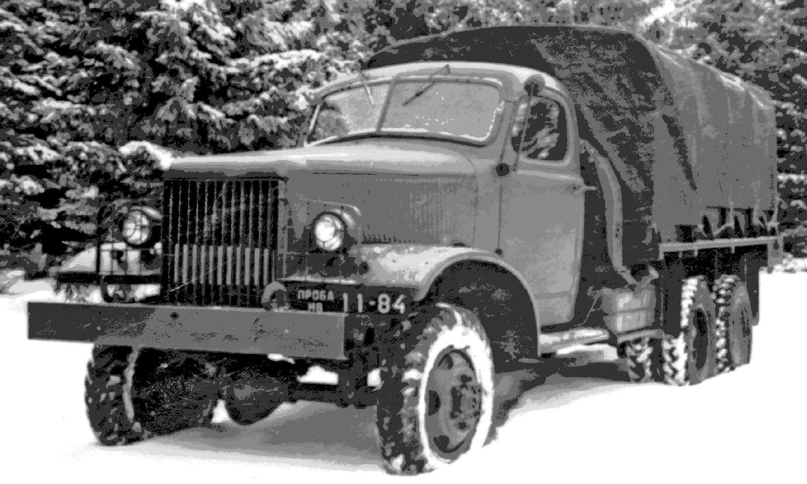 ГАЗ-68, ЗиС-121, Урал-381, НАМИ-020 и другие: малоизвестные послевоенные грузовики, не пошедшие в серию