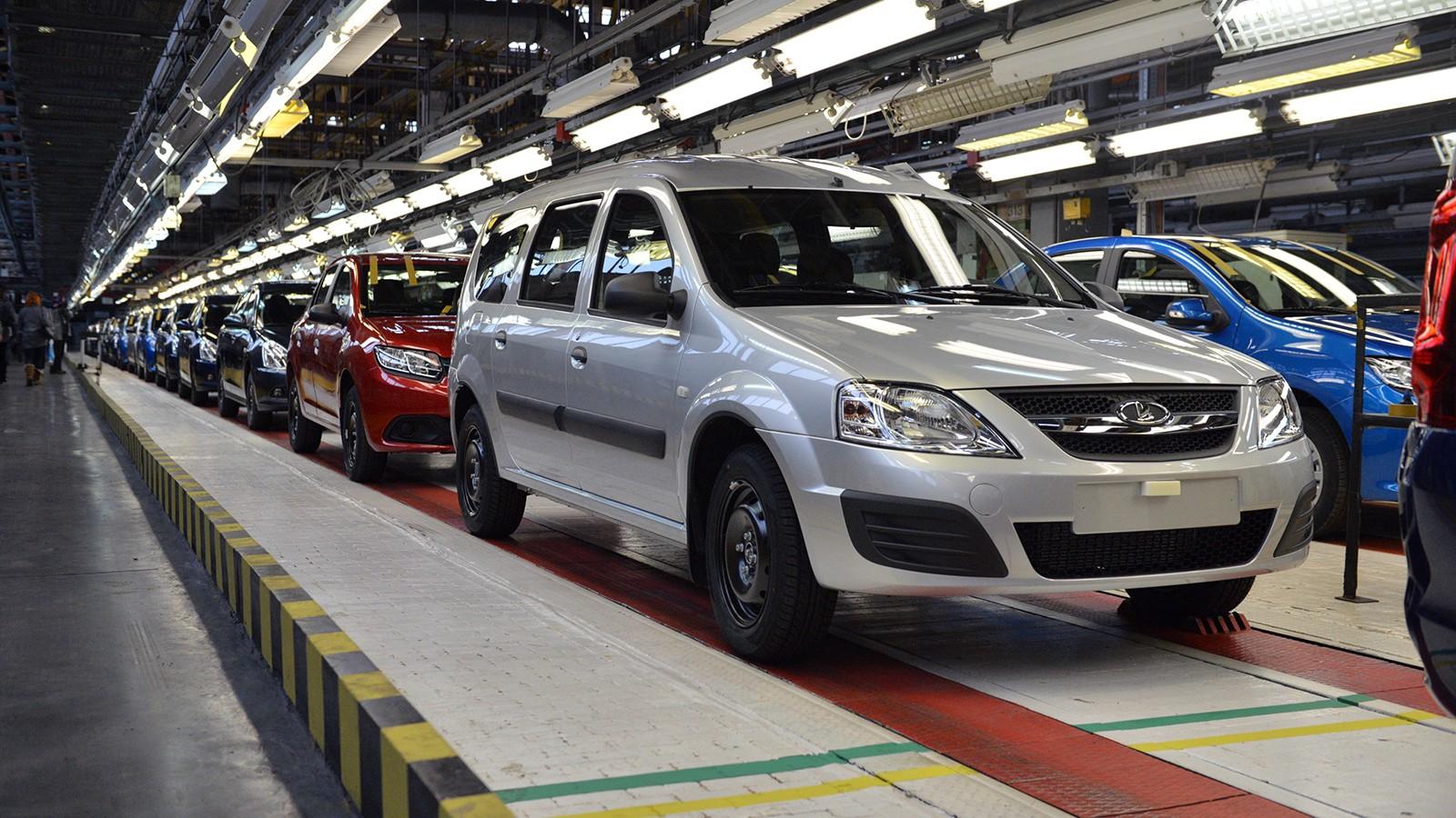 На АВТОВАЗе выпускаются модели Lada, Datsun, Renault и Nissan
