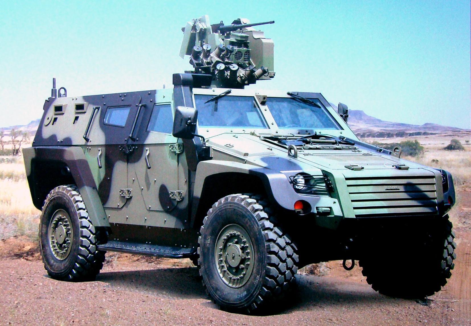 Модульная тактическая бронемашина Otokar Cobra II нового поколения