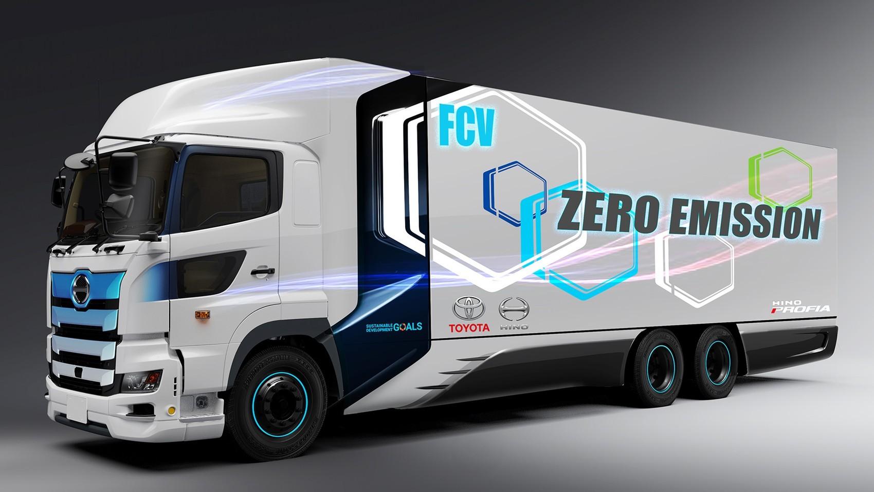 Toyota и Hino разработают конкурента Tesla Semi и грузовикам Nikola