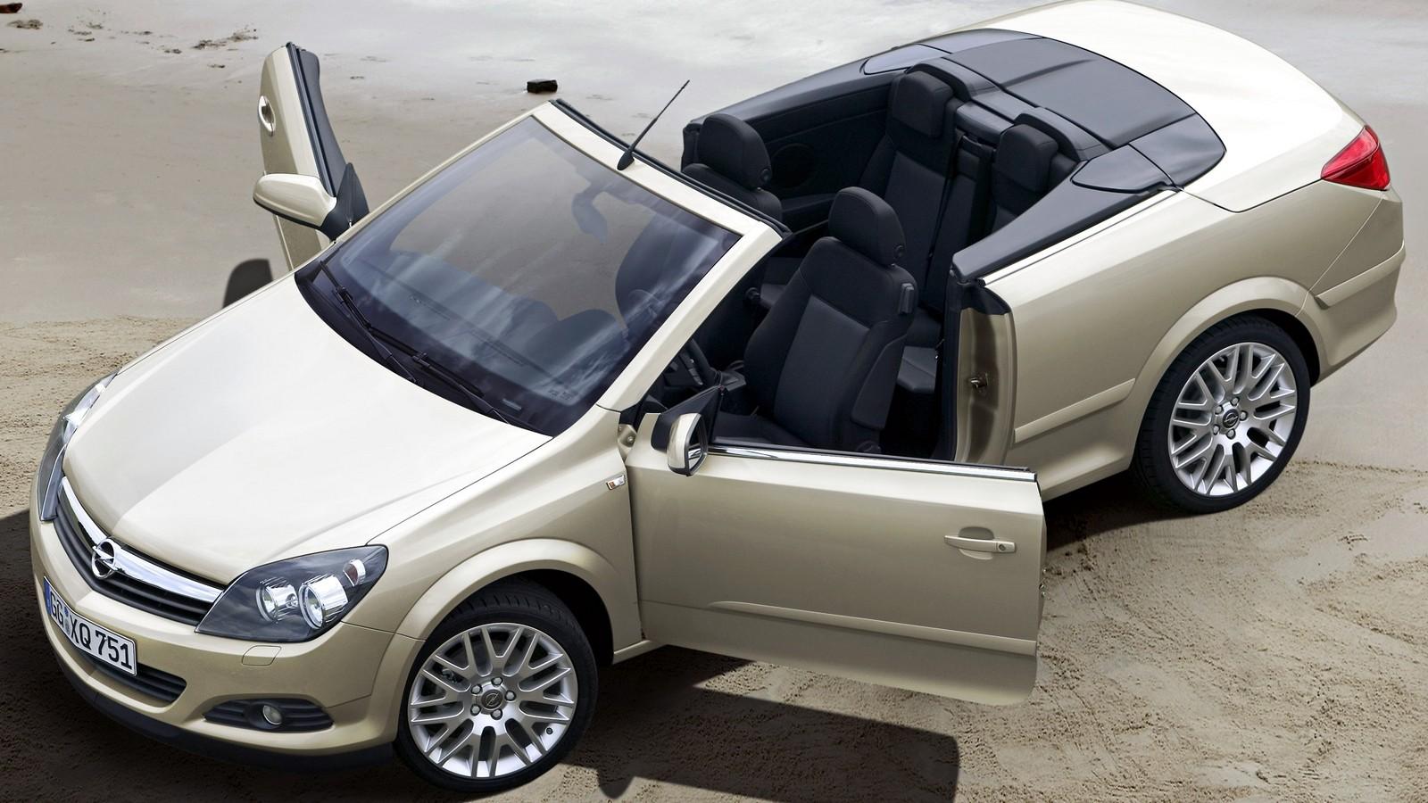 На фото: Opel Astra TwinTop (H) '2006–10