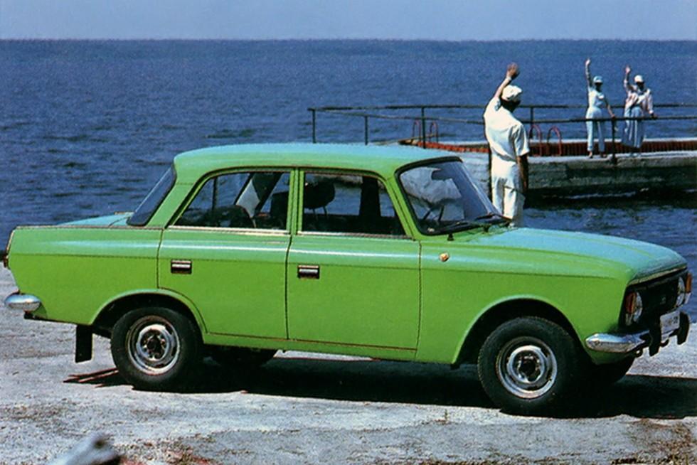 ИЖ 412 Москвич зелёный