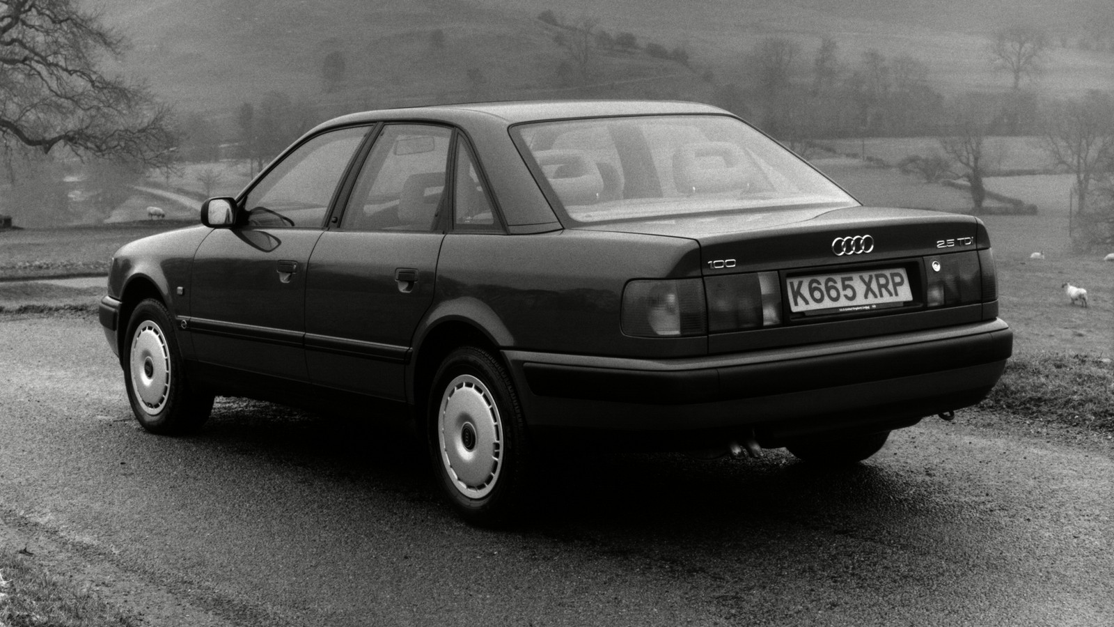 На фото: Audi 100 (4A,C4) '1990–94