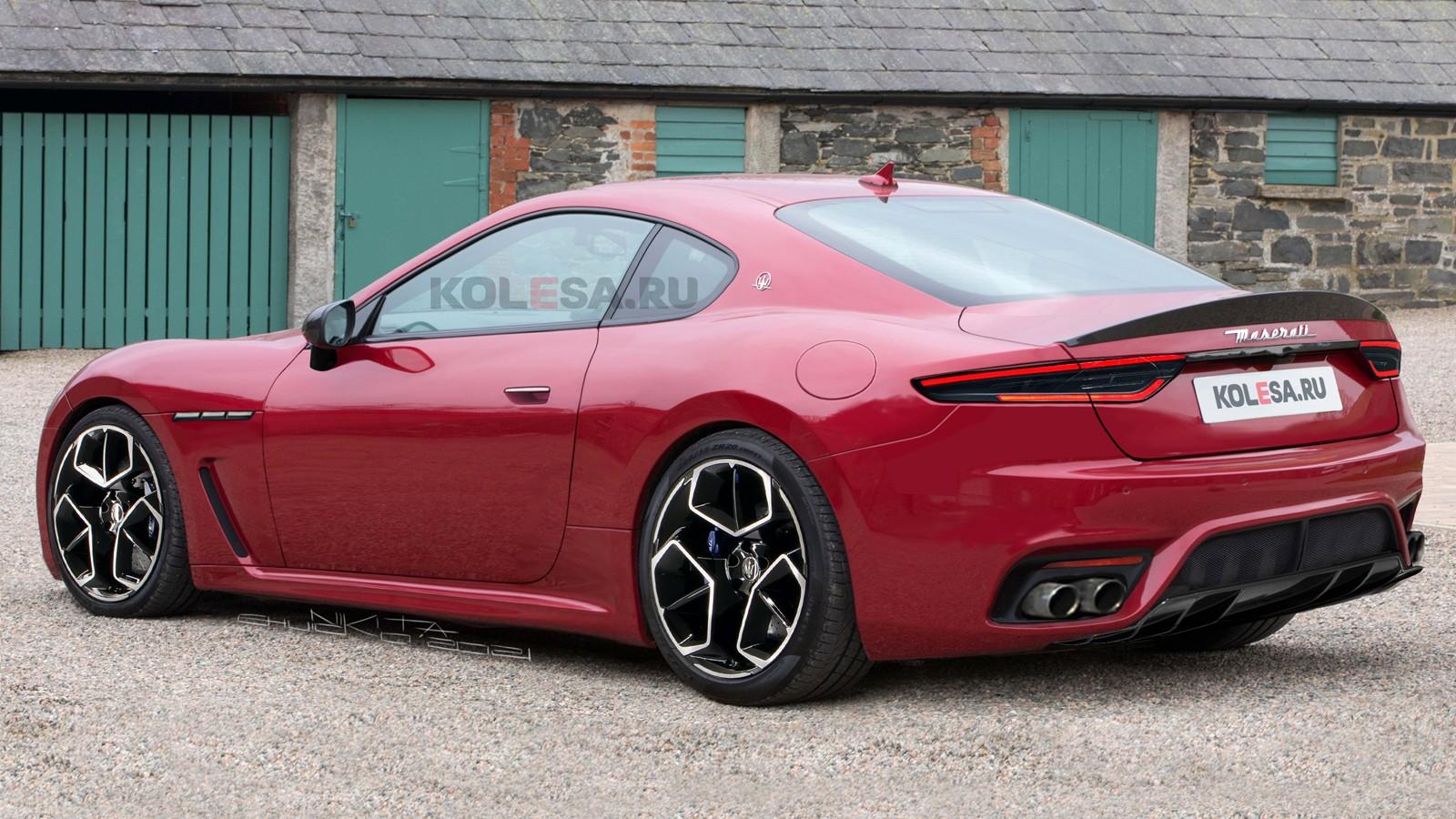 Новый Maserati GranTurismo: первые изображения