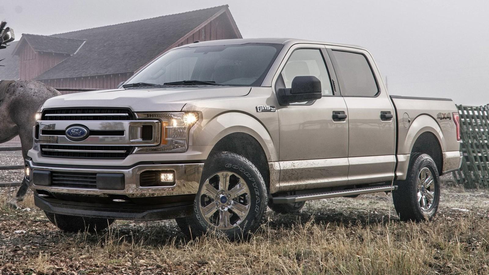 На фото: Ford F-150`2018