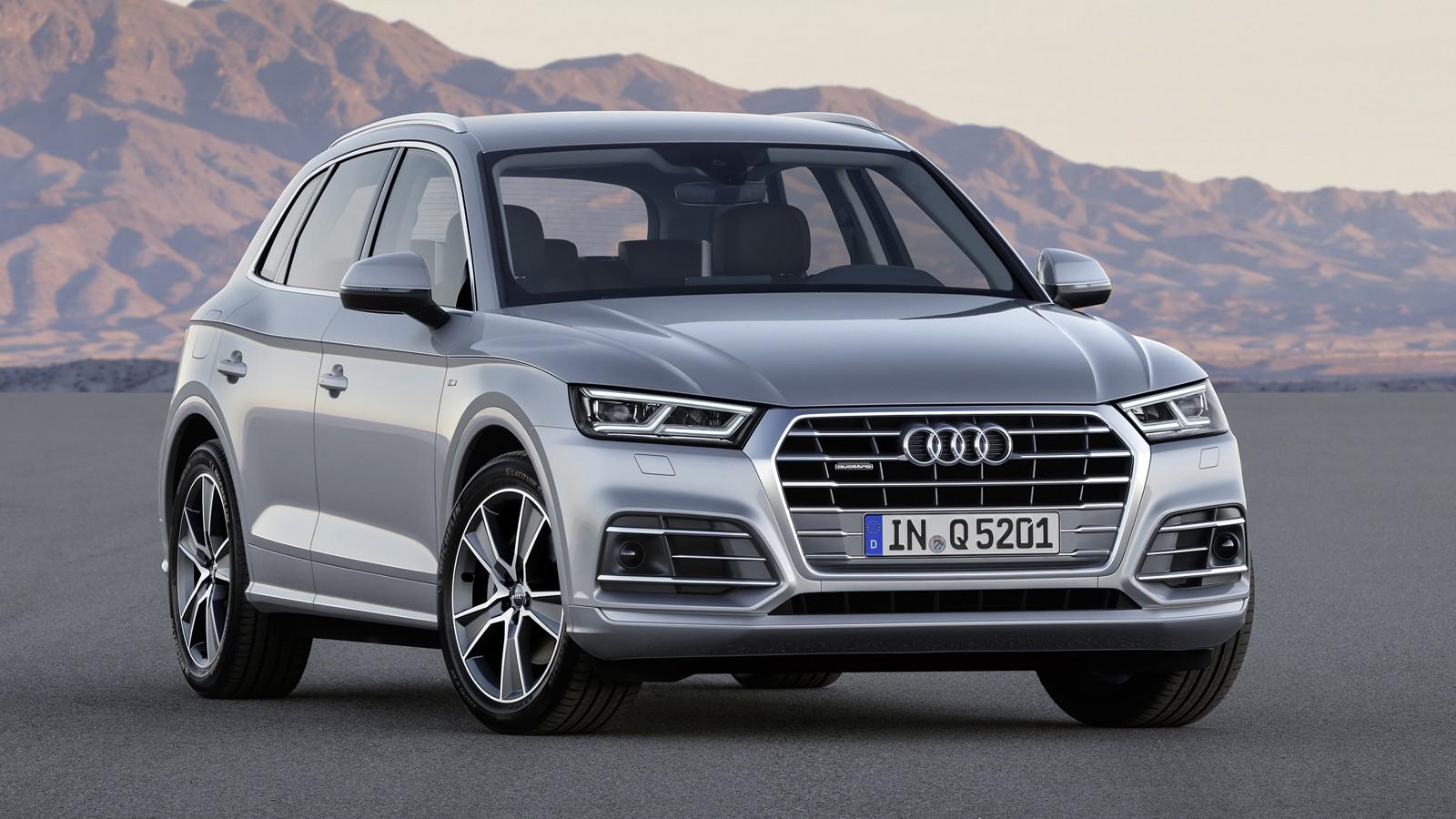 Audi Q5 Paris front