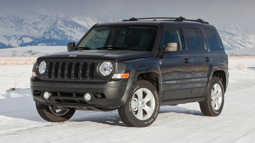На фото: Jeep Patriot