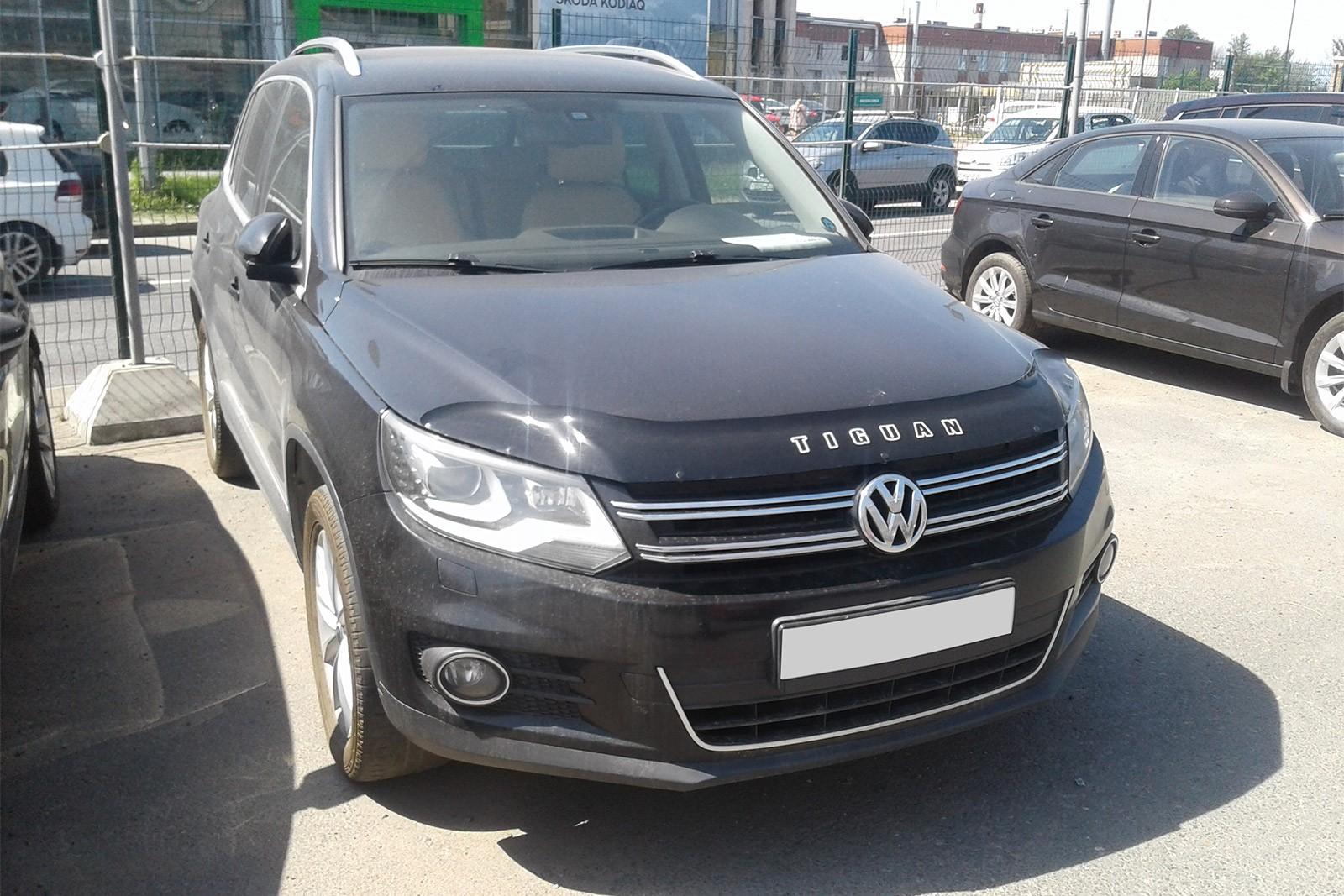 Volkswagen Tiguan черный