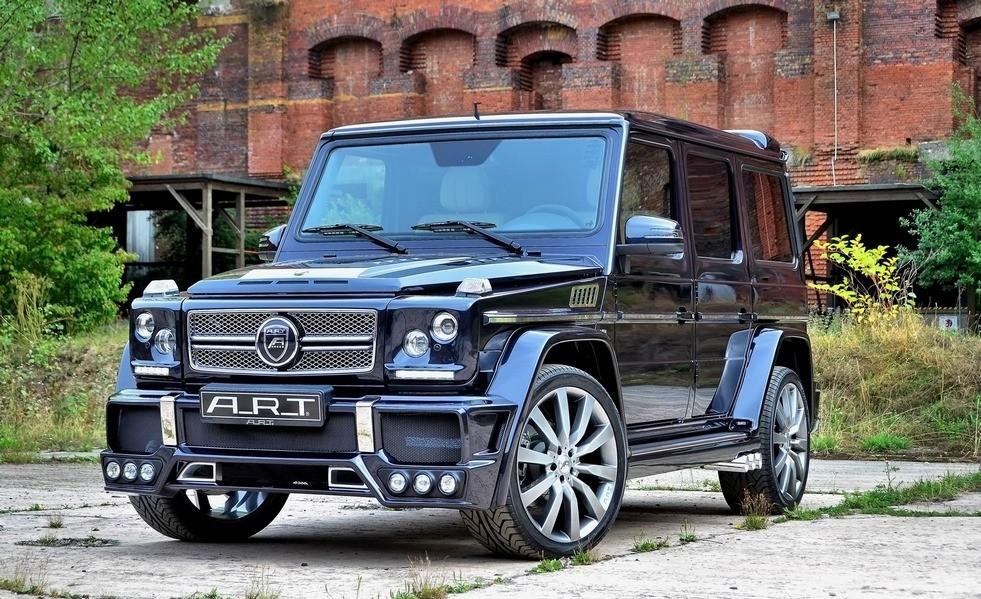 Мерседес Гелендваген Брабус - тюнинг, фото, цена, видео тест-драйв || Тюниговое ателье Brabus подготовило самую мощную версию Mercedes-Benz Gelandewagen