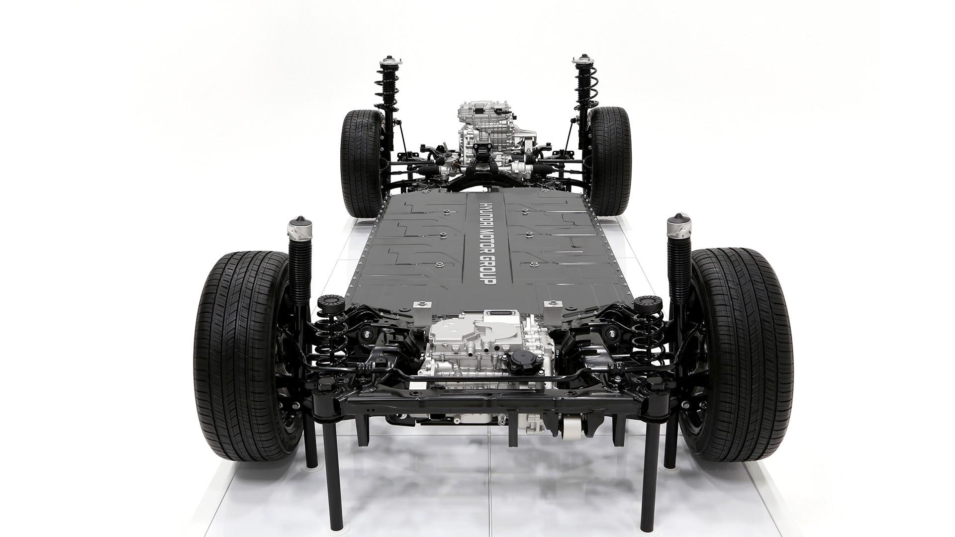 Будущие электрокары Hyundai-Kia: базовый задний привод, просвет 130 мм и решения, которым 20 лет