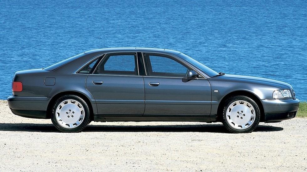 На фото: Audi A8 3.7 (D2) '1999–2002