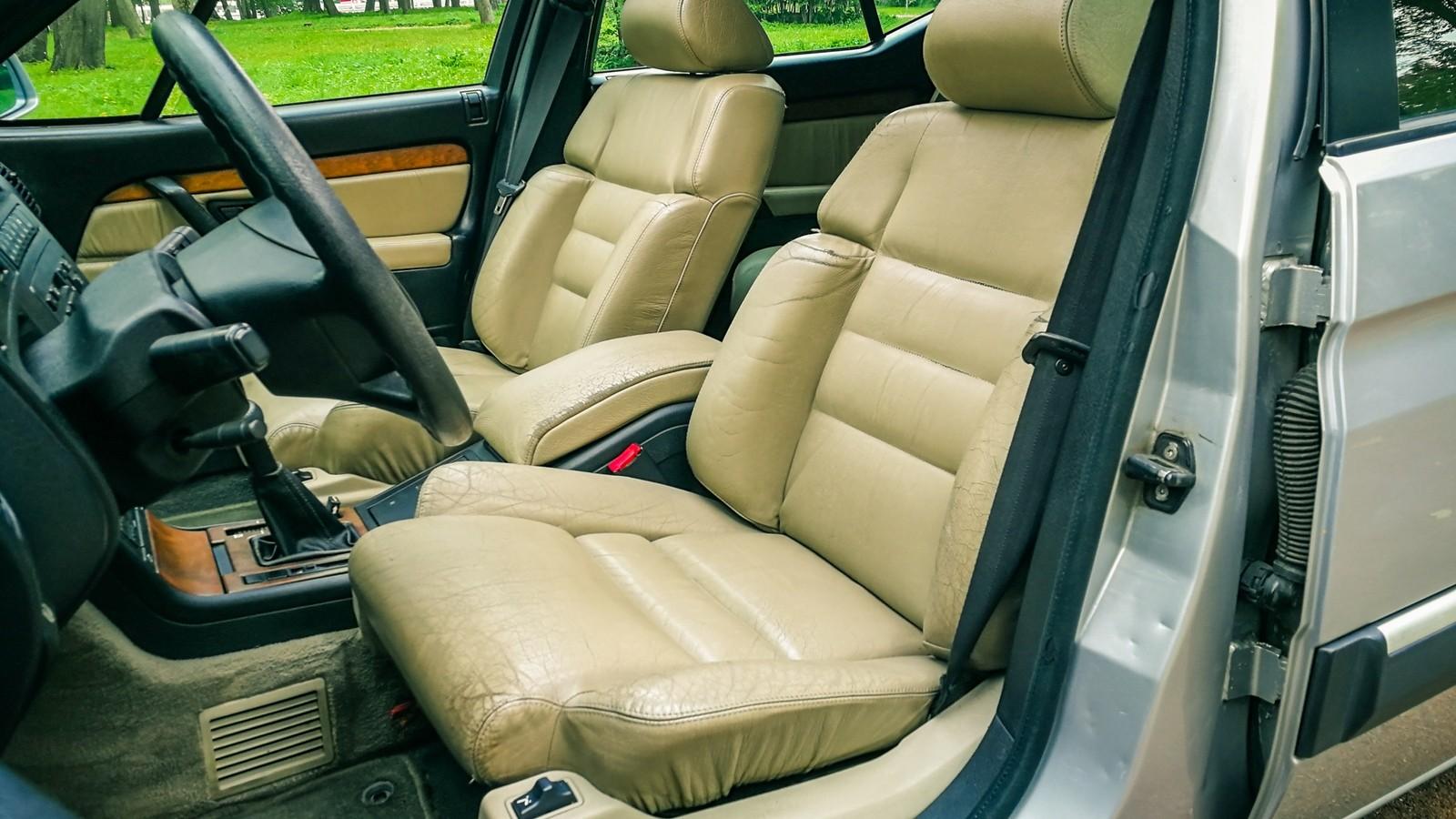 Citroen XM передние сидения