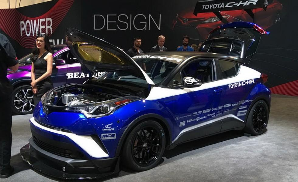 Toyota C-HR от Dan Gardner Spec