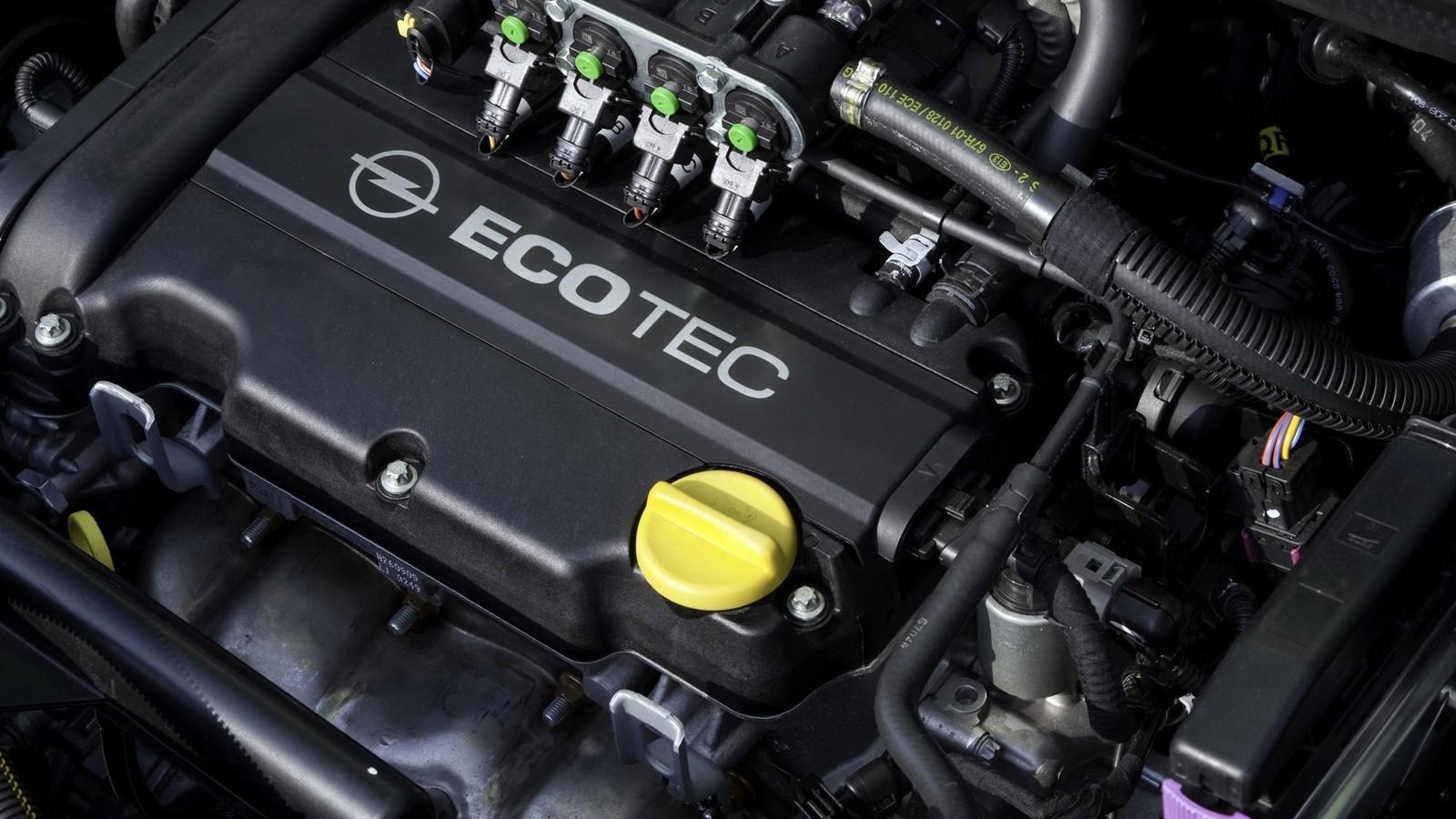 На фото: Под капотом Opel Corsa 5-door ecoFLEX (D) '2009–10