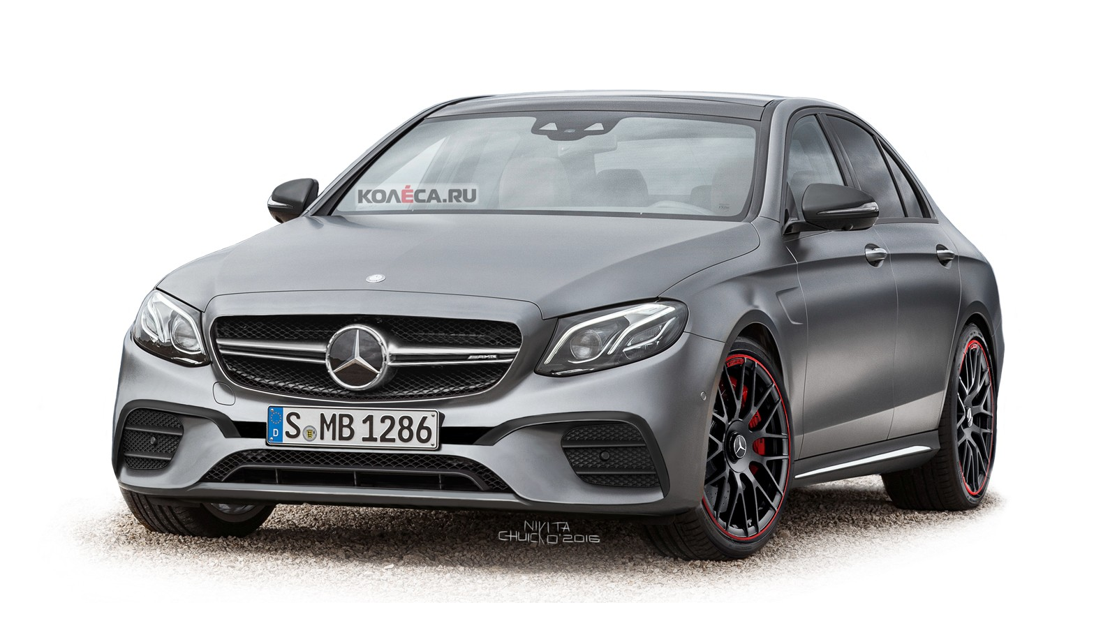 Mercedes-AMG E63 front