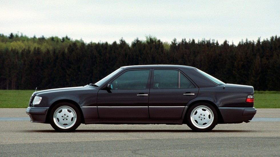 E60 AMG – одна из первых совместных разработок Mercedes и AMG