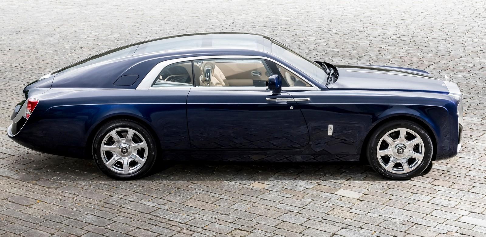 На фото: Rolls-Royce Sweptail '2017