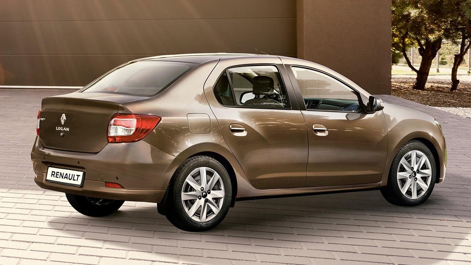 На фото: обновлённый Renault Logan