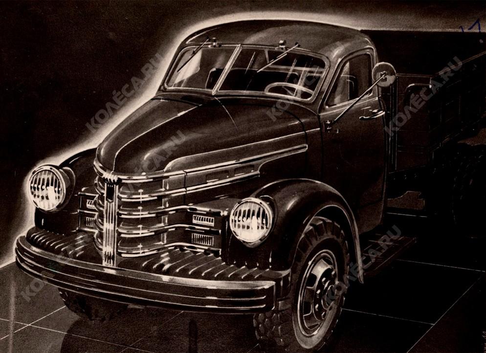 Кабина от «Студебекера», мотор – General Motors, версия 4х4. Правда и ложь об УльЗИС-253