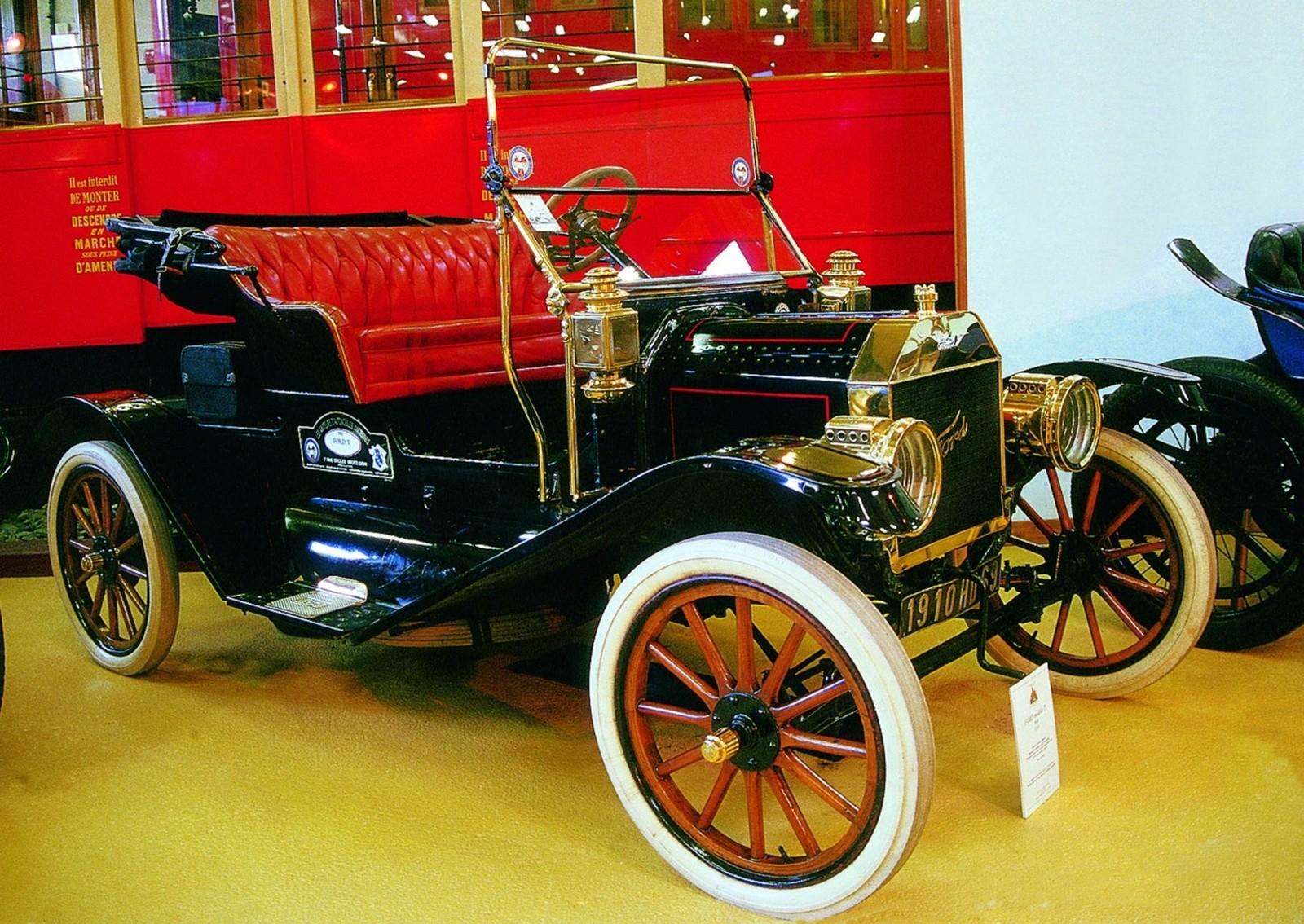 Один из вариантов массового легкового автомобиля Ford T. 1910 год (фото автора)