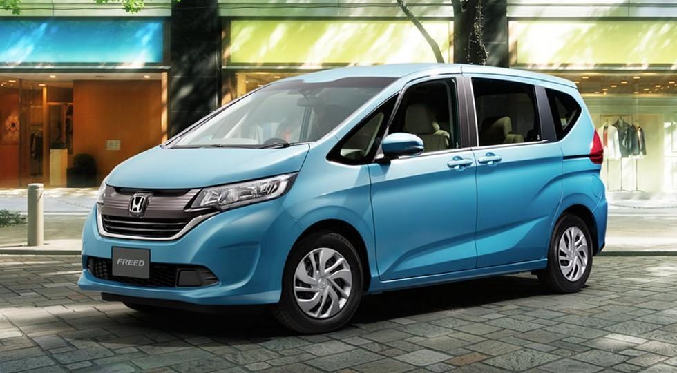 На фото: Honda Freed нового поколения