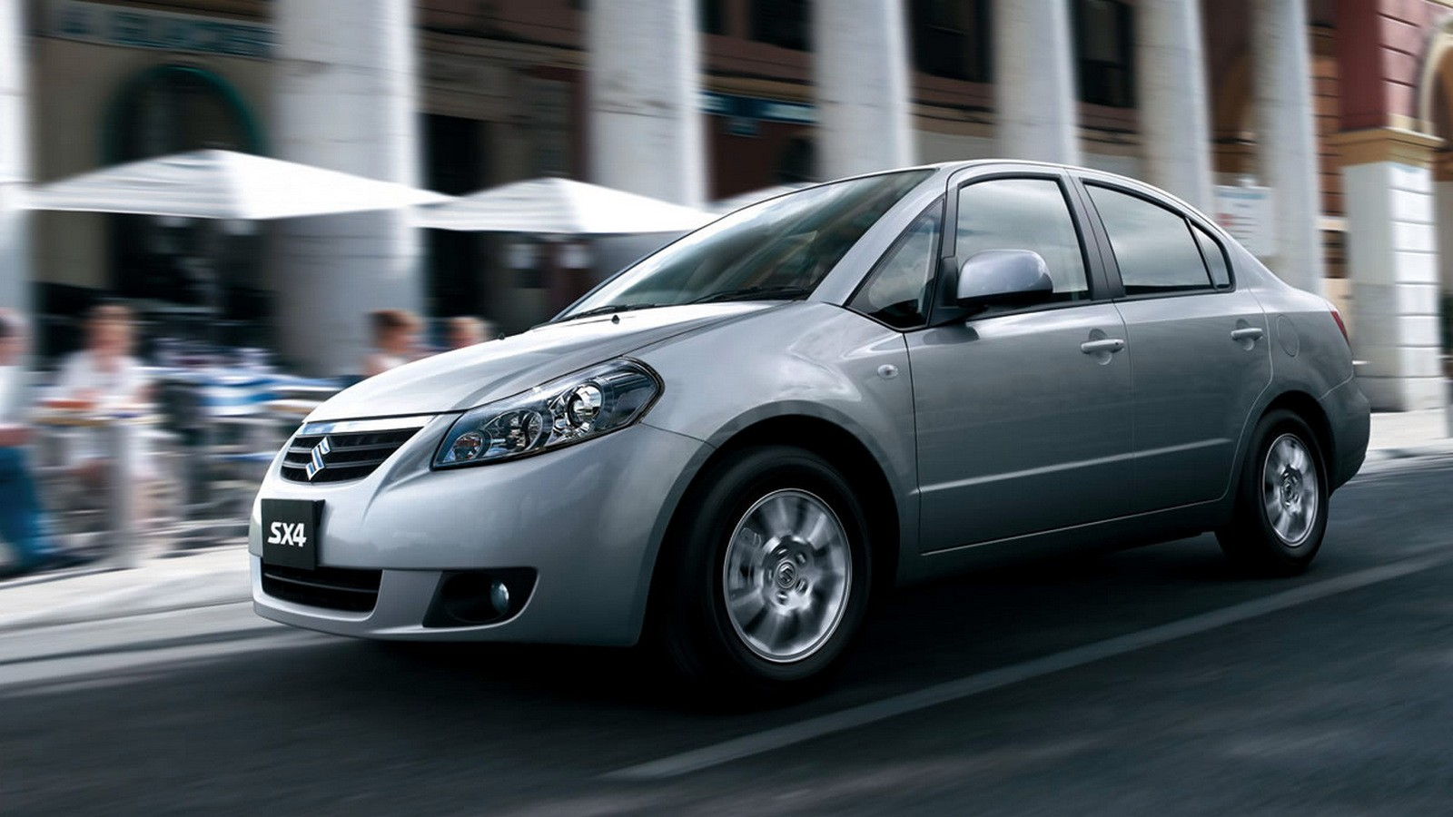 Suzuki SX4 Sedan '2007–12