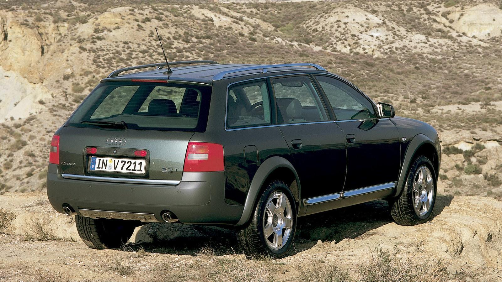 На фото: Audi Allroad quattro 2.7T (2000)