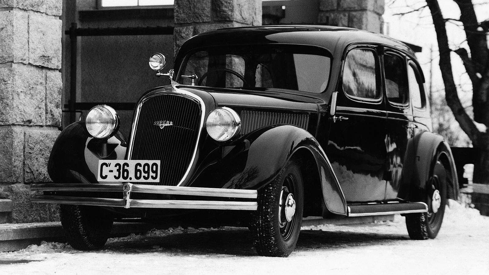 На фото: Škoda Superb '1936–37