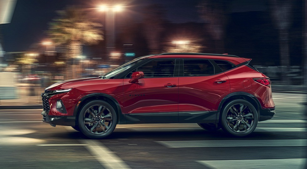 2019 Chevrolet Blazer RS: An attention-grabbing midsize SUV offe