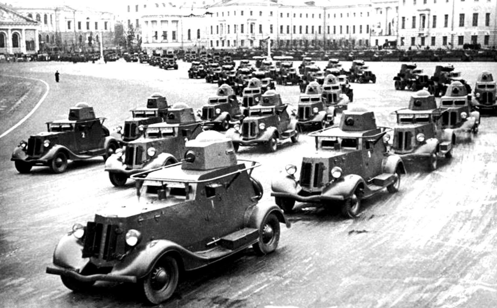 армейские легковушки СССР 23
