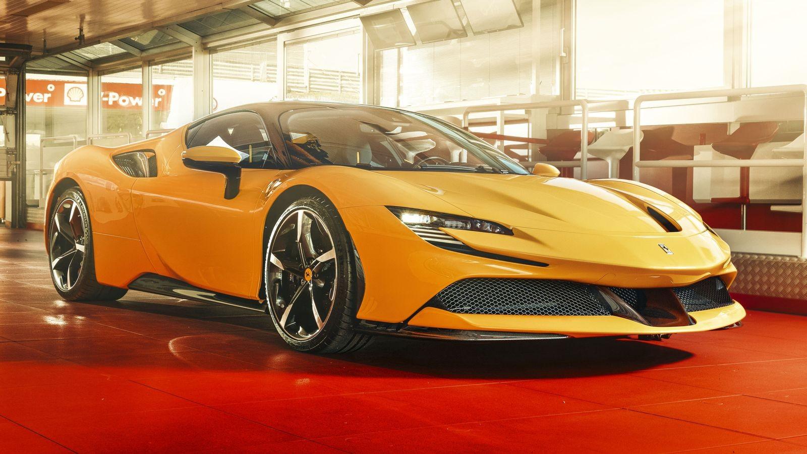 Первый электрический Ferrari порадует не только динамикой, но и звуком