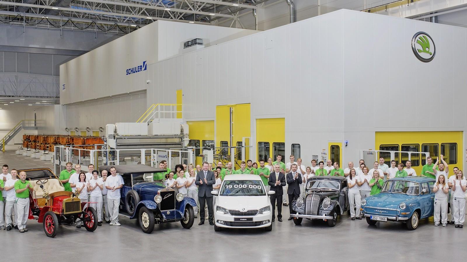 ŠKODA-produces-19-millionth-vehicle