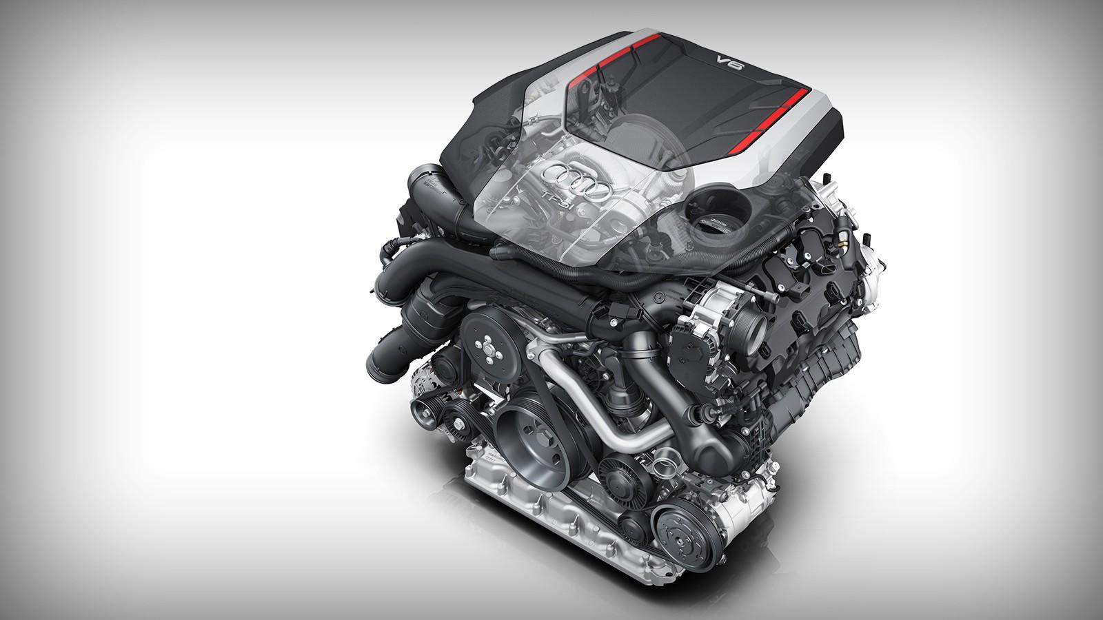 Двигатель нового Audi SQ5 весит 172 кг (-14 кг)