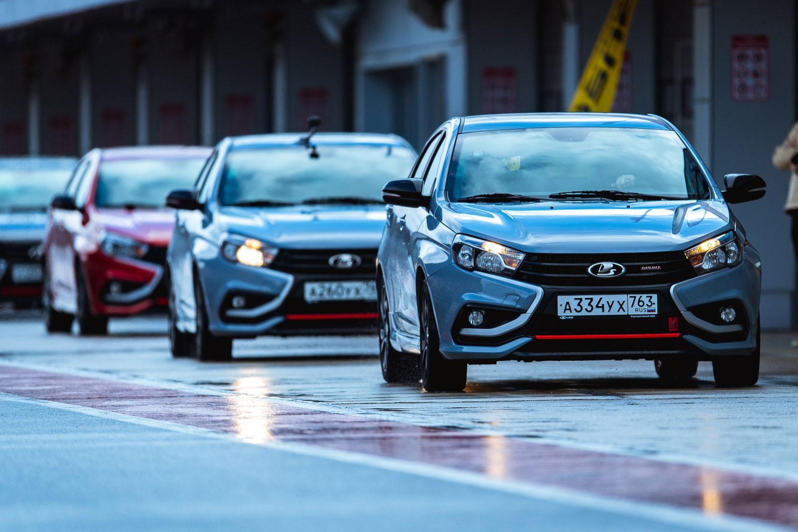 Рысь выходит на тропу: автомобили из Тольятти на гоночных трассах