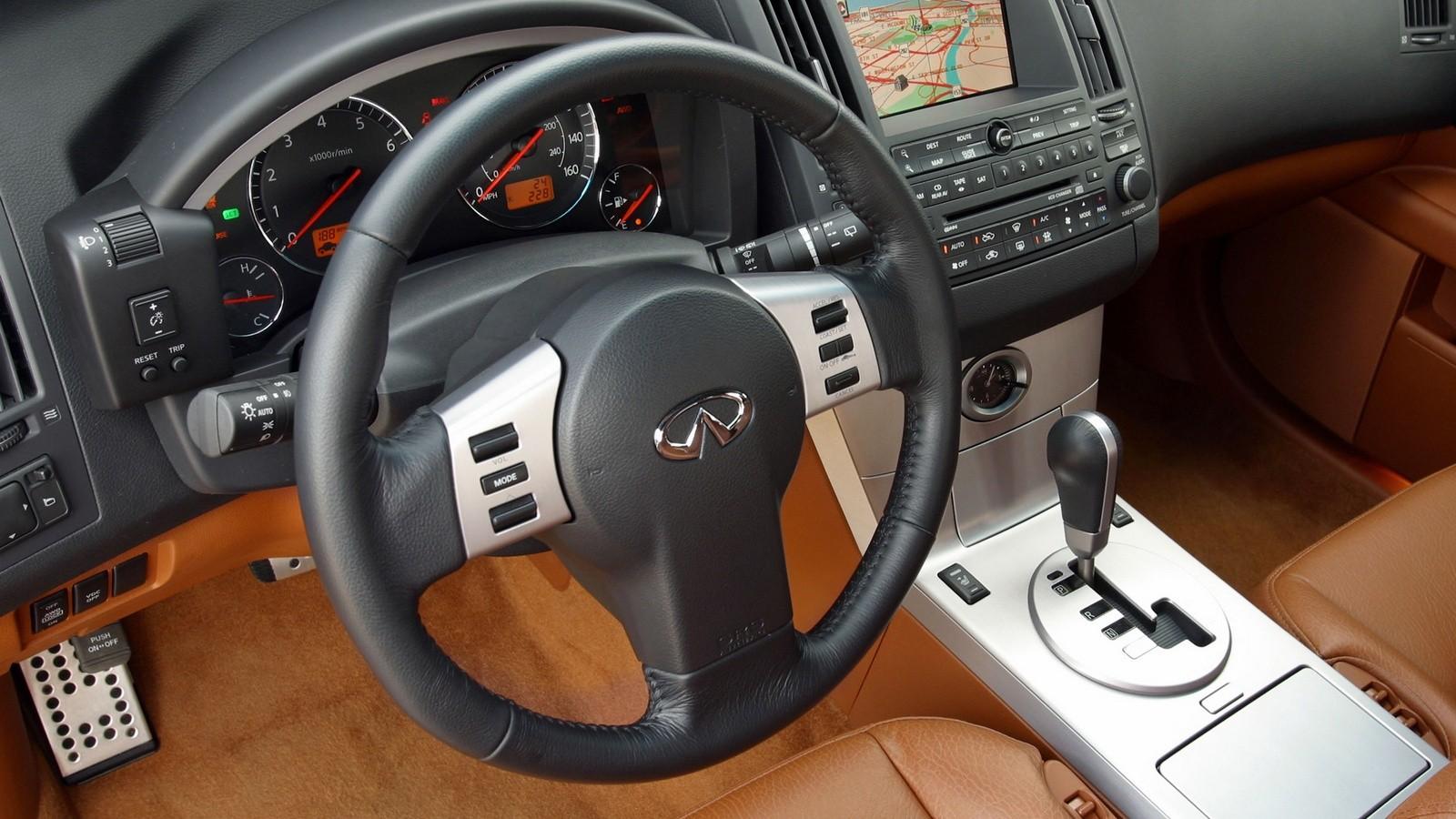 Торпедо 2003–04 Infiniti FX45 (S50) '2003–04