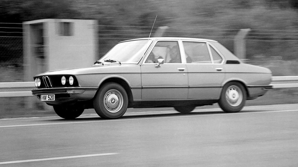 На фото: BMW 520 Sedan (E12) '1972–1975