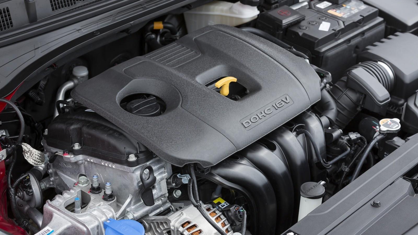 Kia Cerato двигатель