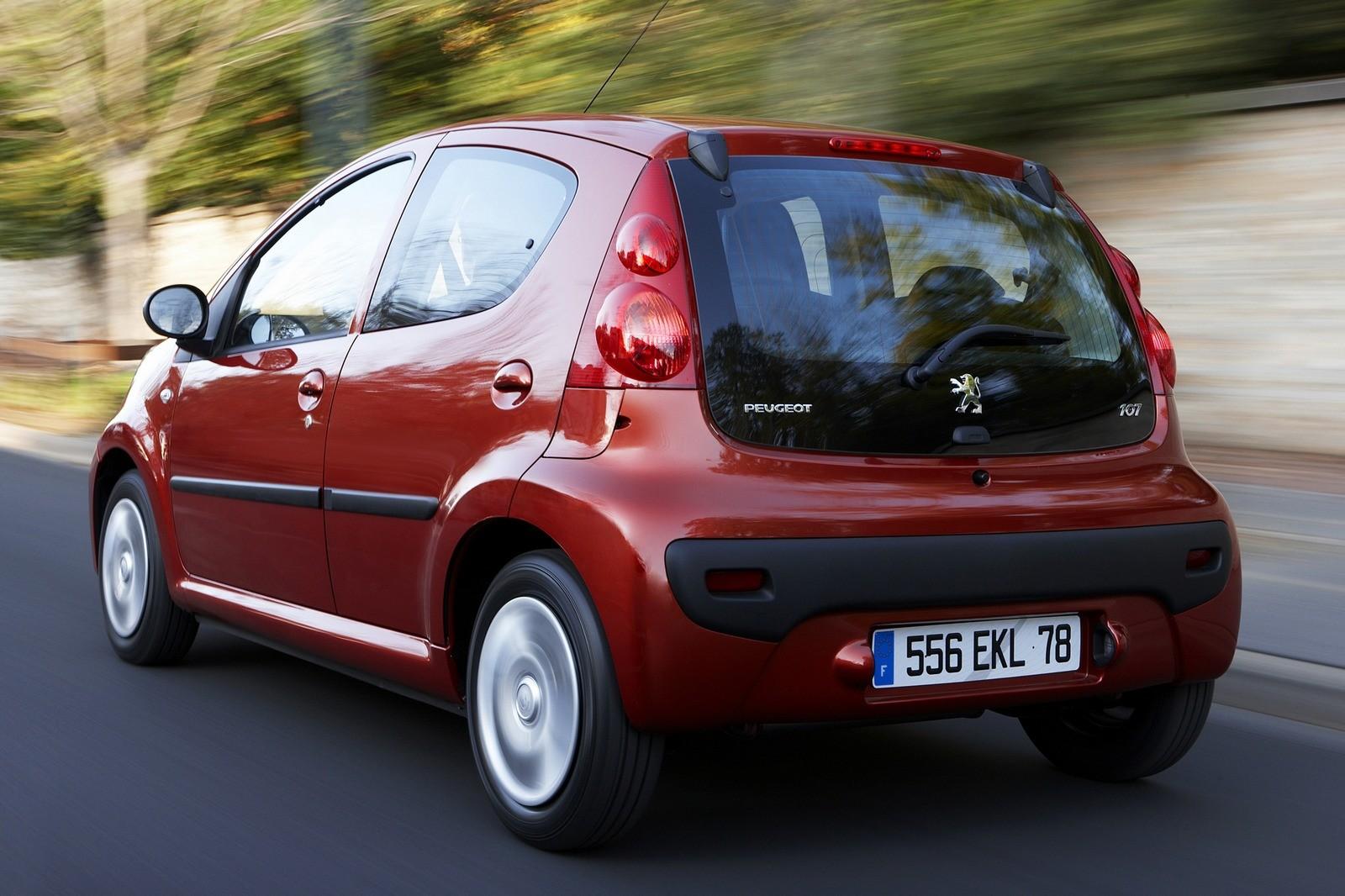 Peugeot 107 5-door Worldwide '2008–12ч