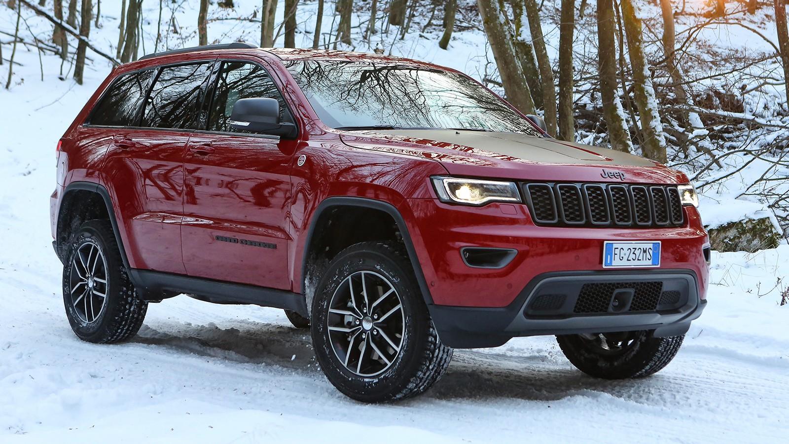 На фото: Jeep Grand Cherokee Trailhawk