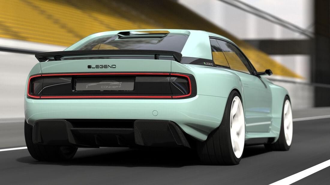 Легендарный Audi quattro вернулся в виде электрического монстра Elegend EL1