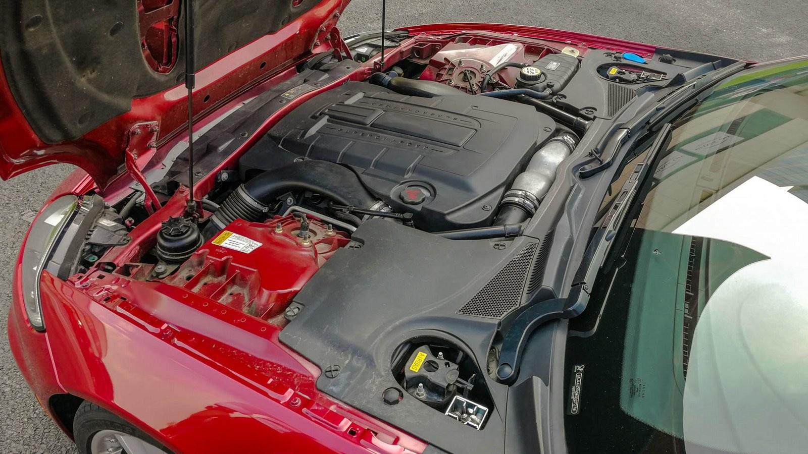 Jaguar XKR двигатель
