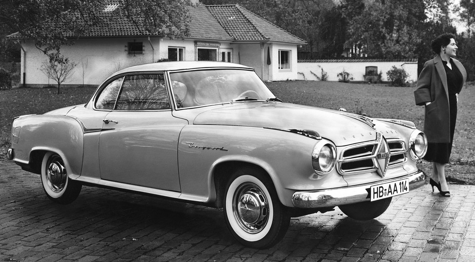 На фото: Borgward Isabella Coupe '1958–61 гг.