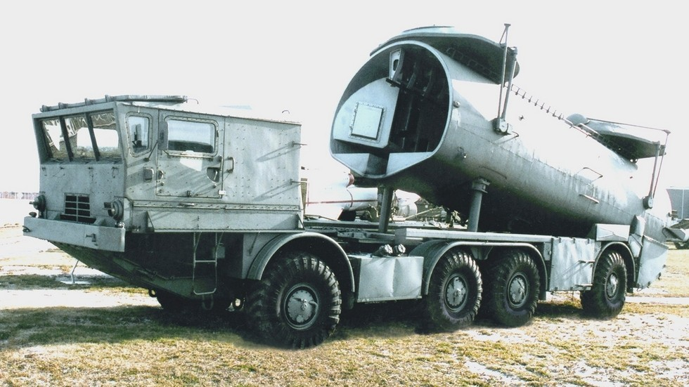 Пусковая установка СПУ-143 разведывательного комплекса «Рейс» (фото Н. Щербакова)